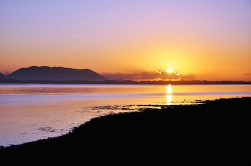Sunset at Inch