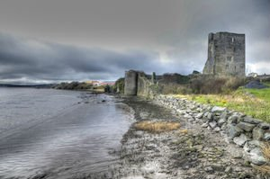 The Ruins of Granagh Castle in County Waterford
