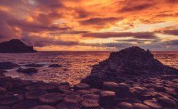 causeway sunset pretty