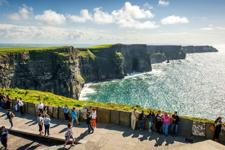 Moher Cliffs tour from Dublin