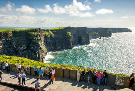 CLIFFS OF MOHER FROM GALWAY