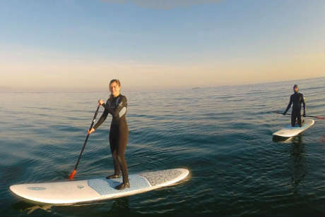 Stand up paddle boarding in galway
