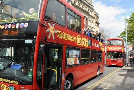 dublin hop on hop off city sightseeing